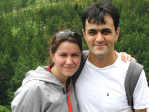 PAIRED — Saeed Malekpour and his wife enjoyed hiking in Canada.  Now his wife must hike alone.
