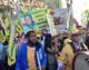 Mojahedin protest in NY