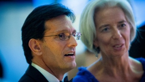 Cantor says talks erode sanctions