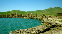 Throne of Solomon once Zoroastrian fire temple