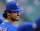 Darvish won't pitch any more this year