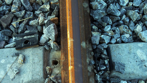 Train derailed after bolts in rail line are stolen