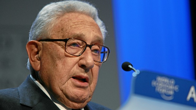 KISSINGER. . . 93 years old