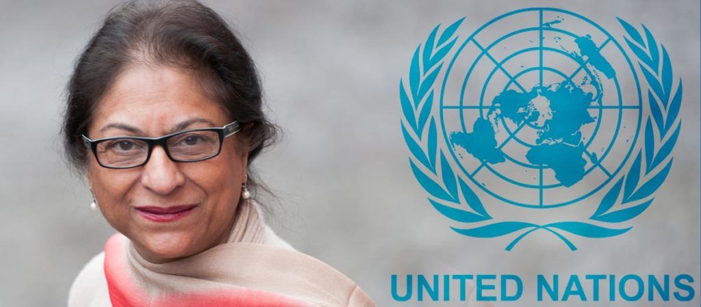 NEW ASSIGNMENT — Azma Jahangir of Pakistan has taken over from Ahmad Shaheed as the UN rapporteur on human rights in Iran.