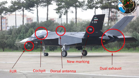 Iran's new 'stealth' fighter jet not very stealthy at all